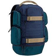 Burton Distortion Pack Dress Blue Heather - Městský batoh
