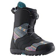 Burton MINT BOA BLACK/MULTI - Boty na snowboard