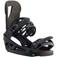 CARTEL EST BLACK - Vázání na snowboard