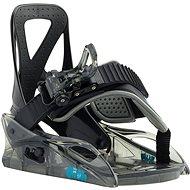 GROM BLACK - Vázání na snowboard