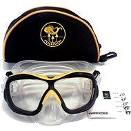Poseidon 3D Pure/Yellow - Potápěčská maska
