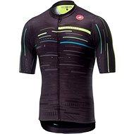 Castelli Tabula Rasa Jersey FZ Multicolor Dark Grey/Yellow Fluo XL - Cycling jersey
