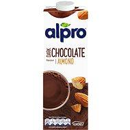 Rostlinný nápoj Alpro mandlový nápoj s příchutí hořké čokolády 1l - Rostlinný nápoj