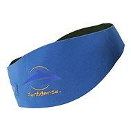Konfidence Aquabands dětská, modrá - Neoprenová čelenka