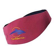 Konfidence Aquabands pro dopělé, růžová - Neoprenová čelenka