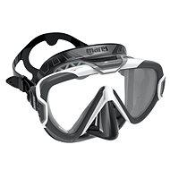 Mares Pure Wire, černý silikon, bílý rámeček - Maska
