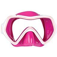 Mares Comet, růžový silikon, růžový rámeček - Maska