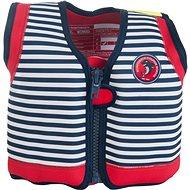 Konfidence ORIGINAL JACKET - Buoyancy Swim Vest, Blue-White - Vest