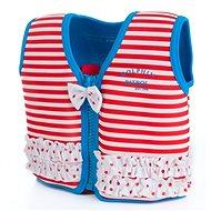 Konfidence ORIGINAL JACKET - Buoyancy Swim Vest, Red Stripe - Vest