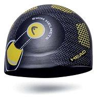 Head Silicone Sketch junior, černá/helma - Plavecká čepice