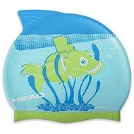 Head Meteor Junior, Green Fish - Swim Cap