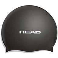Head Silicone Flat, Black - Swim Cap