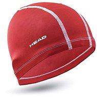Head Polyester Cap, Red - Swim Cap