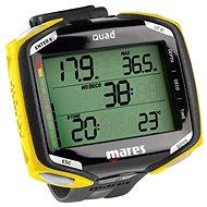 Mares QUAD, černo/žlutá - Potápěčský počítač