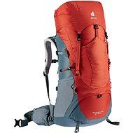Deuter Aircontact Lite 45 + 10 SL paprika-teal - Turistický batoh