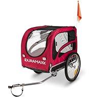 Duramaxx King Rex červený - Vozík za kolo