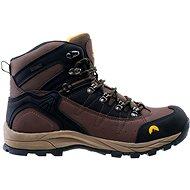 Elbrus Talon mid wp Dark brown - Trekové boty