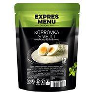 Expres Menu Koprová omáčka s vejci