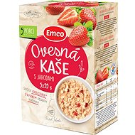 Emco Porridge with Strawberries, 5x55g - Oatmeal