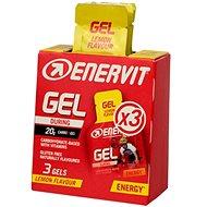 ENERVIT Gel - 3pack, 3x 25 ml, citron - Energetický gel