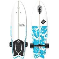 """Street Surfing Shark Attack 36"""" Psycho Blue - Longboard"""