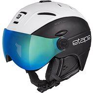 Etape Comp Pro, Black/Matte White - Ski Helmet
