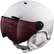 Etape Cortina Pro bílá mat  - Lyžařská helma