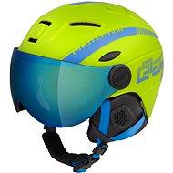 Lyžařská helma Etape Rider Pro Limeta/Modrá Mat