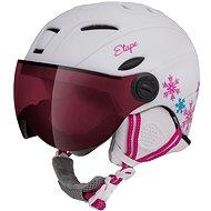 Lyžařská helma Etape Rider Pro Bílá/Růžová Mat