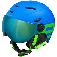 Lyžařská helma Etape Rider Pro Modrá/Zelená Mat, vel. 53 - 55 cm