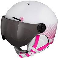 Lyžařská helma Etape Speedy Pro Bílá/Růžová Mat, vel. 55 - 58 cm