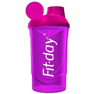 Fit-Day Shaker 600ml pink - Shaker