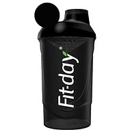 Fit-Day Shaker 600ml black - Shaker