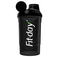 Fit-day Shaker 600 ml černý - Shaker