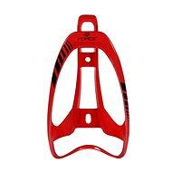 Force LIMIT plastový, červený lesklý - Košík na lahev