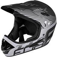 Force TIGER downhill, černá matná - Helma na kolo