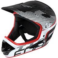 Helma na kolo Force TIGER downhill, črn-bílo-červ