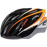 Force HAL, černo-oranžovo-bílá - Helma na kolo
