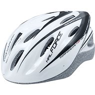Force HAL, White-Black - Bike Helmet