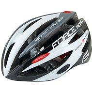 Force ROAD, černo-bílo-šedá - Helma na kolo