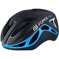 Helma na kolo Force REX, černo-modrá, L - XL, 58 cm - 61 cm
