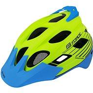 Force RAPTOR MTB fluo-modrá - Helma na kolo