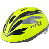 Helma na kolo Force FUN STRIPES dětská, fluo-černo-šedá