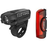 Force Glare USB, přední + zadní - Světlo na kolo