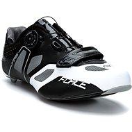 Force Fire Carbon, Černé/Bílé - Cyklistické tretry