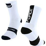 Force LONG PRO bílá/černá - Ponožky