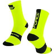 Force LONG PRO žlutá/černá - Ponožky