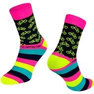 Force CYCLE růžová 36-41 EU - Ponožky