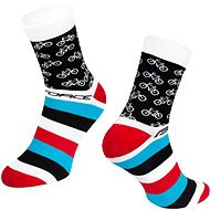Force CYCLE bílá - Ponožky