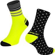 Force SPOT černá/žlutá - Ponožky